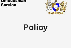 Ombudsman Service Policy