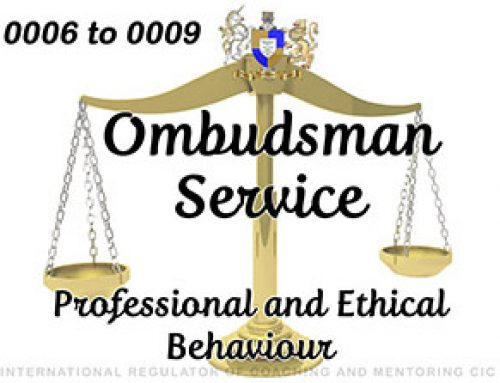Ombudsman Service 0006 to 0009 – UPHELD – part 1: 3 – Professional and Ethical Behaviour of Respondents