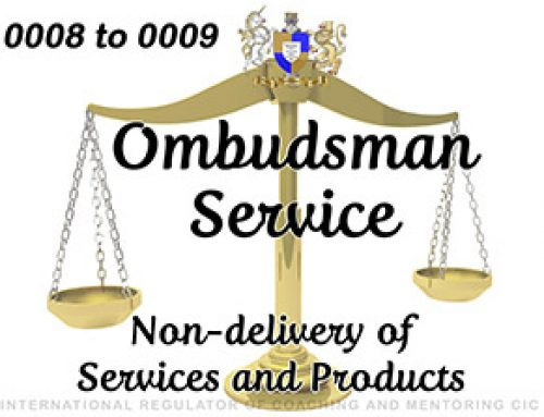 Ombudsman Service 0006 to 0009 – UPHELD – Non-delivery of services/products
