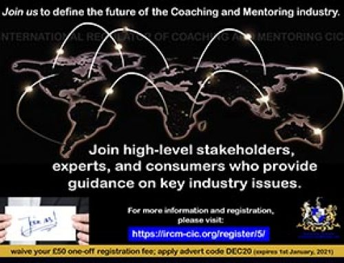 Join us to define the future of the Coaching and Mentoring industry.