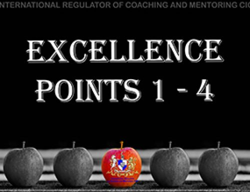 Personal Conduct – 4: Excellence points 1 – 4