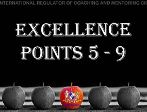 Personal Conduct – 4: Excellence points 5 – 9
