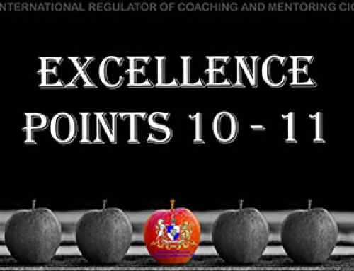 Personal Conduct – 4: Excellence points 10 – 11